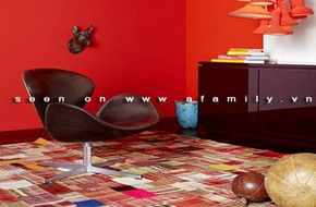 Những gam màu tuyệt đẹp cho phòng khách theo 4 mùa