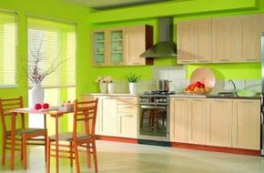 Ý tưởng trang trí phòng bếp mát rượi cho mùa hè
