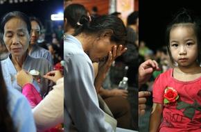 Nước mắt nghẹn ngào trong nghi lễ