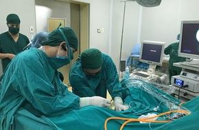 Điều trị dứt điểm sỏi thận bằng cách tán sỏi nội soi qua da