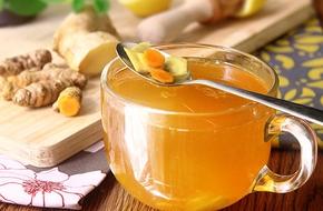 Nghệ, gừng, nước cốt dừa: Hỗn hợp