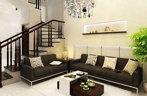 Phòng khách theo từng không gian kiến trúc