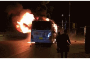 14 người chết, 32 người bị thương khi xe buýt đột ngột bốc cháy giữa đường