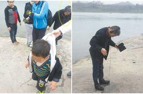 Người đàn ông lao xuống sông cứu cháu bé giữa trời lạnh thấu xương