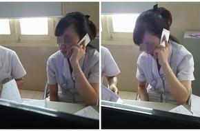 Nhân viên phòng khám sản BV Bạch Mai