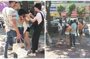 Vợ cắt tóc, lột áo kẻ thứ 3, chồng vội vã đến giải cứu nhân tình