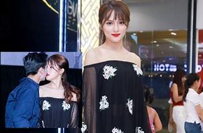 Hương Giang Idol khóa môi trai trẻ giữa đám đông