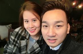 MC Thành Trung tình tứ bên bạn gái sau khi tiết lộ kế hoạch kết hôn