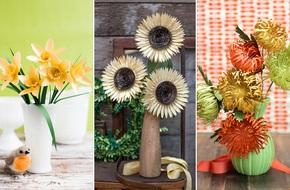Mách bạn 3 cách làm hoa giấy xinh trang trí nhà đẹp