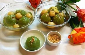 Làm mới món chè trôi nước dẻo thơm với vị trà xanh