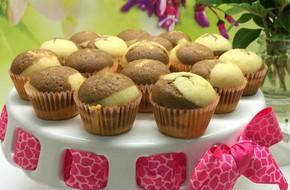 Làm muffin cafe vân đá vừa đẹp vừa ngon làm lại rất dễ