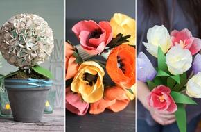 3 cách làm hoa giấy cực đẹp bạn không nên bỏ qua