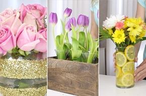 Bỏ túi 3 cách cắm hoa đẹp mắt mà cực đơn giản