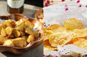 Học cách làm 2 món ăn vặt  ngon ngất ngây từ... khoai tây!