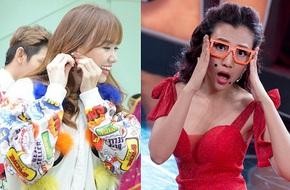 """Hari Won tươi tắn trên phim trường, Hoàng Oanh tạo dáng """"khó đỡ"""""""