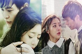 Joo Won dịu dàng ôm mỹ nhân Hoa ngữ dưới làn mưa