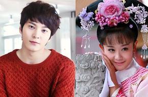 """Joo Won bất ngờ trở thành người yêu của mỹ nữ """"Tân Hoàn Châu Cách Cách"""""""