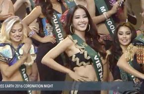 Nam Em xúc động chia sẻ sau khi lọt top 8 Miss Earth