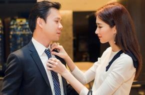 Hoa hậu Đặng Thu Thảo ân cần chăm sóc bạn trai đại gia