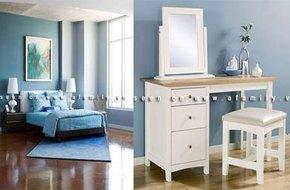 Chọn nội thất và trang trí phòng ngủ... 17m2 cho vợ chồng trẻ