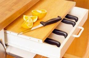Mẹo tiết kiệm không gian trong phòng bếp