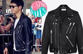 """Bóc giá loạt đồ đen """"cool ngầu"""" của đại uý Song Joong Ki"""