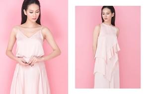 Chọn mặc màu hồng pastel dịu ngọt mát lành để giúp ngày hè bớt oi nóng