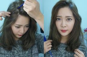 Đổi kiểu tóc mái