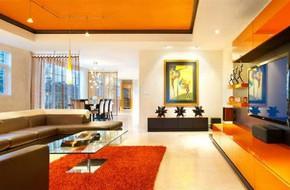 Tạo cảm hứng với căn phòng màu cam