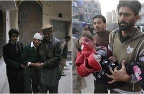 Các em nhỏ đau đớn, sợ hãi khi thoát khỏi cuộc thảm sát trường học
