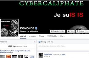 Đài truyền hình Pháp bị tin tặc của phiến quân IS