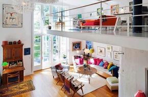 Ngắm những ngôi nhà có tầng lửng đẹp và tiện nghi đến phát thèm