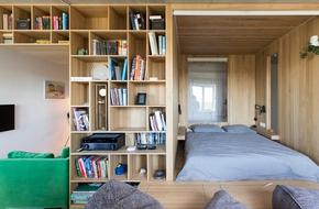 Căn hộ 43m² đẹp và chất thế này thì cần gì dành dụm cả đời để mua nhà to