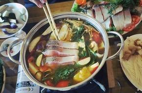 Lẩu cá hồi - Món ngon không thể bỏ qua khi đến Sa Pa