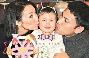 Quách Khả Doanh khoe ảnh mừng sinh nhật con gái tròn 2 tuổi