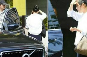 Han Ga In xuất hiện lần đầu bên chồng sau khi hạ sinh công chúa nhỏ