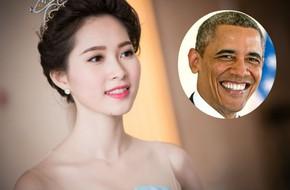 Hoa hậu Đặng Thu Thảo mất ngủ vì được gặp Tổng thống Obama