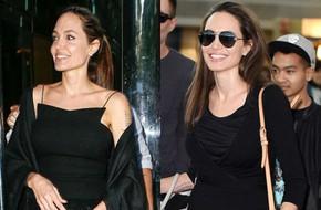 Đã rất lâu rồi người ta mới thấy Angelina Jolie cười tươi đến vậy