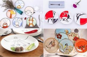 15 mẫu đĩa sắc màu có giá không quá 100 nghìn cho bàn ăn đẹp lung linh