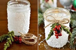 Tận dụng đồ cũ để trang trí Noel dễ và siêu đẹp
