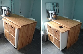 Những ý tưởng thiết kế cực hay giúp phòng bếp chật trở nên rộng thênh thang
