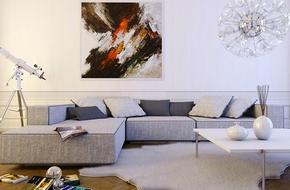 Tư vấn bố trí nội thất căn hộ 60m² hiện đại và hợp với tuổi Giáp Tý