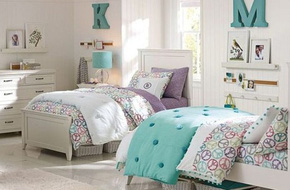 20 mẫu phòng ngủ đẹp lung linh như cổ tích dành cho nhà có chị em gái