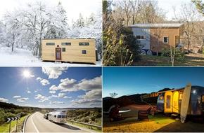 4 ngôi nhà di động nhưng tiện nghi chẳng thiếu thứ gì khiến ai cũng thích