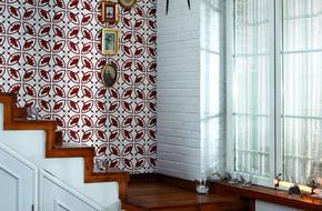 Trang trí tường nhà độc đáo với những mẫu gạch có hoa văn lạ mắt
