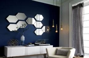 Gây ấn tượng trong trang trí nhà bằng những kiểu gương độc đáo