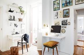 9 ý tưởng tuyệt hay đem không gian làm việc độc lạ vào ngôi nhà nhỏ xinh