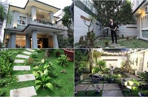 Ngắm vườn rau xanh mướt bên trong căn biệt thự triệu đô của Cao Thái Sơn