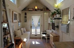 Ngôi nhà vỏn vẹn 15m² cho gia đình ba người nhưng rất thoáng đãng và tràn ngập ánh sáng tự nhiên