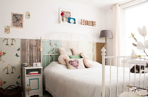 Trang trí đầu giường trở nên ấn tượng với những thứ phòng ngủ nào cũng có